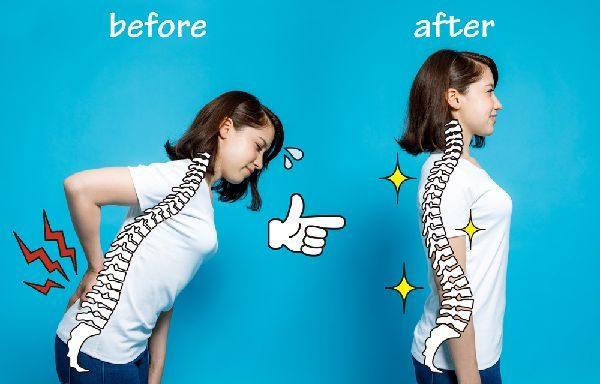 補整下着で姿勢が良くなる効果のメカニズムとは?